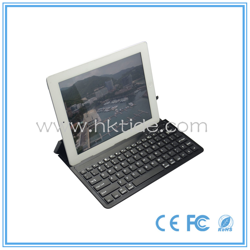 2014 best aluminum cover bluetooth keyboard for Ipad air