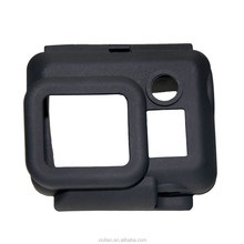 Soft Silicone Rubber go pro case Protector for GoPro Hero 3 camera in black