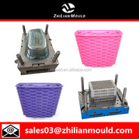 OEM custom plastic bicycle basket mold manufacturer