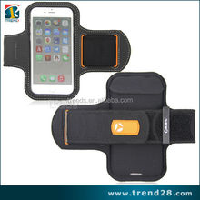 2015 new products waterproof sport armband jogging case for iphone 6, customized soccer captain armband
