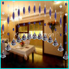 High quality crystal beaded door curtain for home decoration