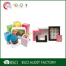 Custom Design Printed cupcake packaging