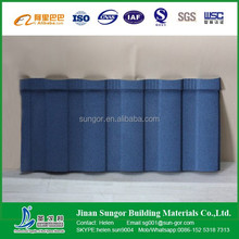ISO certified classical colorful steel roofing sheet PPGI metal roof tile