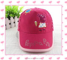 peppa pig girls sun hat wholesale Children cap