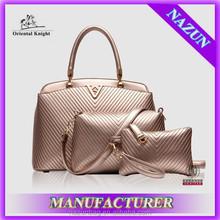 Alibaba China Lady Fashion Handbags 3 in 1 Set