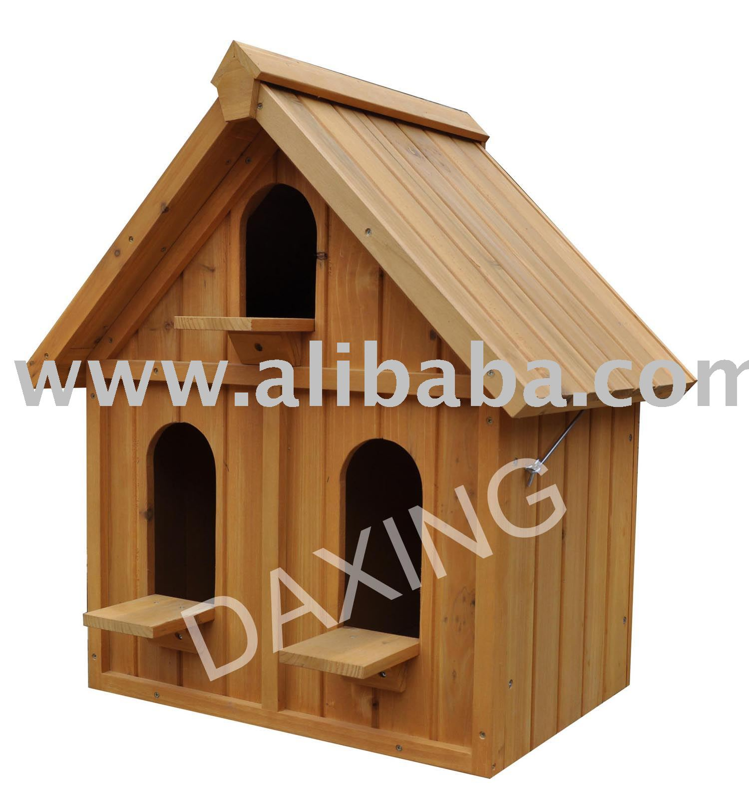Comedero para p jaros casa del p jaro las aves de corral casa madera jaula de p jaros jaulas - Casa para pajaros ...