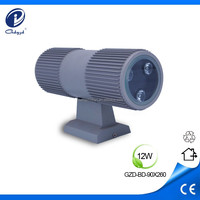12W led wall pack light,shine up and down wall light,outside wall light