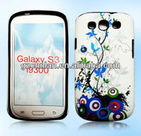New Arrival Flower Tpu Gel Case For Samsung Galaxy S3 SIII i9300
