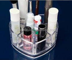 Small Size Clear Acrylic Makeup Organizer Container Store for Bathroom