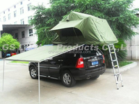 Outdoor camping top tent/2015 New camping roof top tent/New Car roof top tent with Annex Awning extra tent