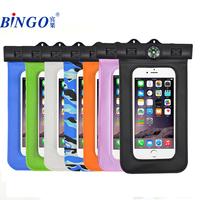 "Bingo promotional pvc waterproof mobile bag 6.0"" hot sell factory wholesale"