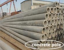 Design concrete pole making machine with services in all aspect
