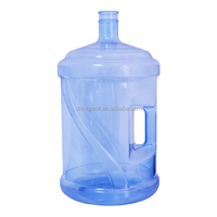 high quality 5 gallon water bottle with integrated handle bpa free
