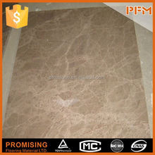 big projects used honed surface marble laminated with glass