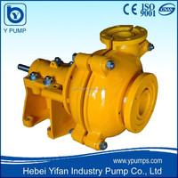 wear abrasion resistant solid mining centrifugal slurry pump in grinder