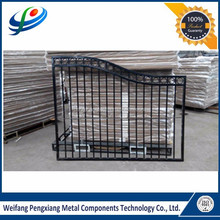 Hot Sale Decorative Direct Factory Aluminum Gate(ISO SGS Certified)