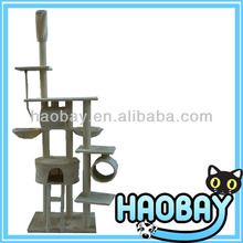 Adjustable Luxury Cat Scratching Post Cat Tree Fine Tops Pet Products pet product