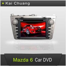 Cool 8inch 2din Car DVD GPS Mazda 6 2012