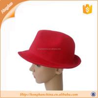 Faux wool felt panama hat