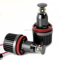 E92 2x 20W H8 LED Angel Eye 360-Degree Halo Bulb Light Lamp 7000K For E60 E61 E90 E92 E70 E71 E82 E89 1 3 5 Series X5 X6 Z4