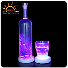 Newest products-led coaster colorful led light coaster with great quality