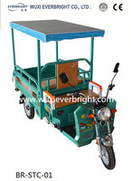 2015 high quality low price electric tricycle with solar panel