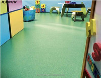 Children's special Green safety pvc flooring /plastic vinyl flooring/colorful vinyl flooring