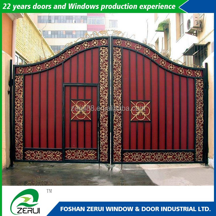 Iron Fancy Gate Boundary Wall Gate Design Buy Direct From