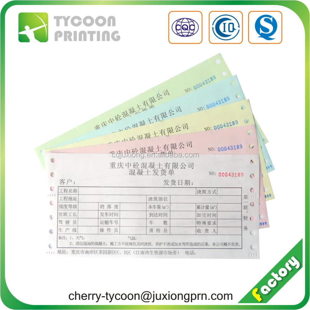 Carbonless Duplicate Paper Carbonless Copy Paper Truck