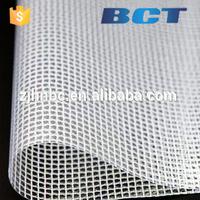 Haining Anti-uv covering transparent PVC Mesh waterproof protection pvc canvas tarp/PVC zipper bag