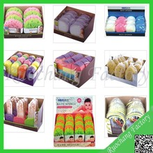 2015 new design soft shower bath mesh sponge,mesh stuff