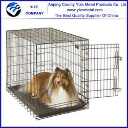 Large Welded Mesh Cheap Dog Kennels /Galvanized Steel Dog Kennels