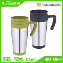 2015 Newest Promotional 304 stainless steel mighty mug won't fall over RHPS310S-14