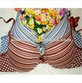 Mujeres impresa algodón sujetador de prendas de vestir
