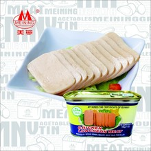 198g chicken luncheon meat canned halal food