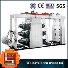 Hot Selling Automatic Roll Paper Six Color High Speed Plastic Printing Machine