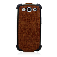 Fancy Design litch texture leather for Samsung case