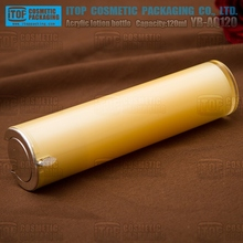 YB-AQ120 120ml simple design straight round bigger capacity plastic bottle acrylic colour paint