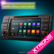 """PF7246BA- Newest 7"""" Android 4.4.4 OS touch Car DVD With Wireless Screen Mirroring & OBD2 For BMW Old 3 Series E46"""