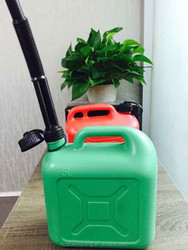 Plastic Jerricans fuel jerrican with plastic oil spout China prfessional custom plastic jerry can
