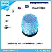portable speaker play with FM radio and TF card mp3