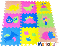 New products Dinosaur game baby toys puzzle mat