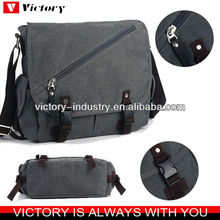 New canvas messenger bag