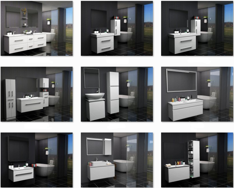 2017 modular armários móveis de cozinha moderna PVCMóveis para cozinhaID do -> Armario Banheiro Modular
