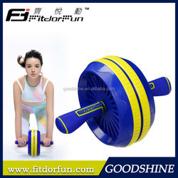 2015 Trending Hot Porducts Fitness Equipment Creative Abs Roller Wheel Abdominal Exercise With Knee Mat