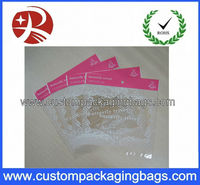 Colorful self-adhesive OPP plastic packing bag with peal film for clothes