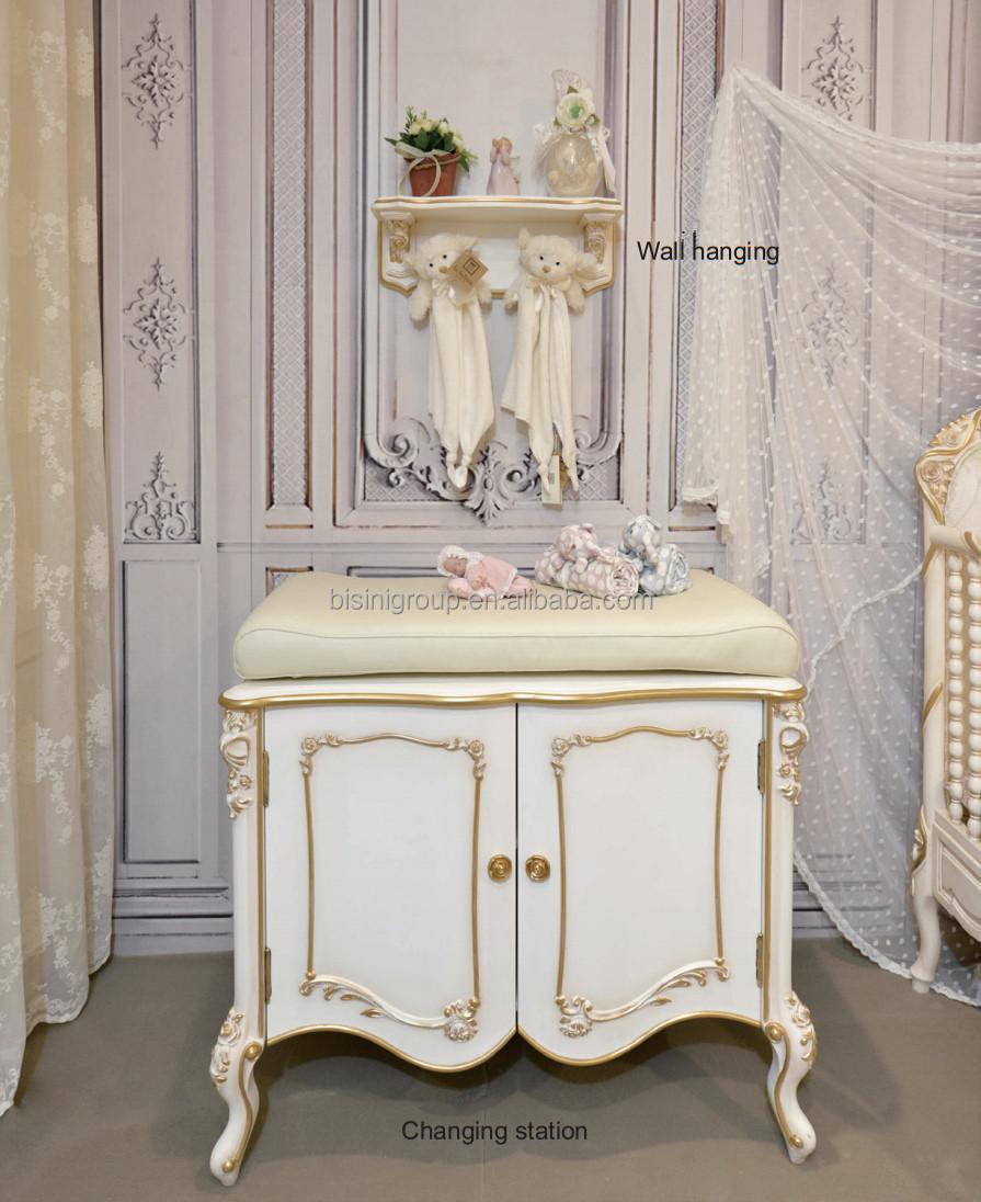 Style européen luxe ivoire sculpté à la main bébé changement ...