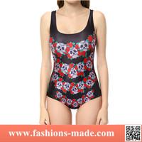 2015 hot sex girl one piece swimwear
