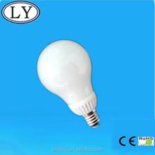 indoor using 7w 10w E27 B22 high lumen energy saving light bulbs