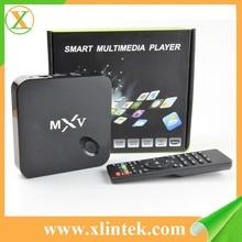 new arrival Quad Core Smart Google MXV S805 android tv box 1gb ram 8gb rom Kodi installed